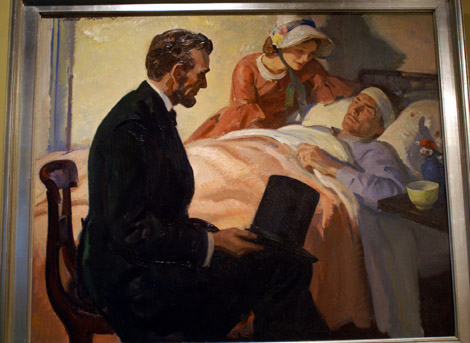 Pruett Carter, Lincoln Visiting the Wounded