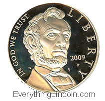 Abraham Lincoln silver dollar