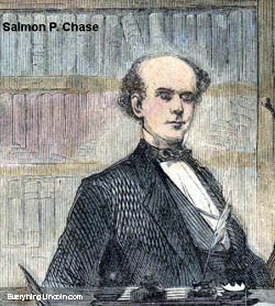Salmon P. Chase, Lincoln's Secretary of the Treasury