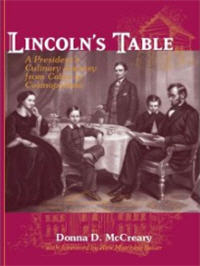Lincoln's Table book about Abraham Lincoln food preferences