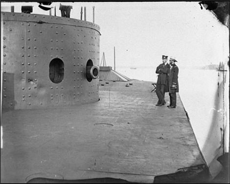 deck of the USS Monitor