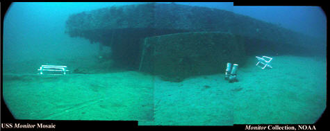 Wreck of the USS Monitor by NOAA