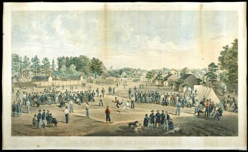 Baseball in the Civil War at Salisbury Prison