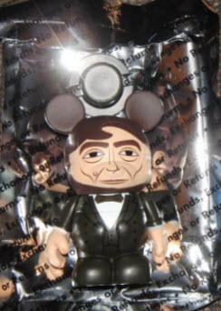 Abraham Lincoln vinylmation in foil