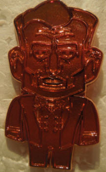 Abraham Lincoln vinylmation pin copper variant
