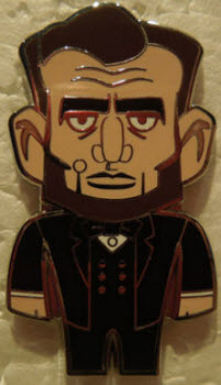 Abraham Lincoln vinylmation pin