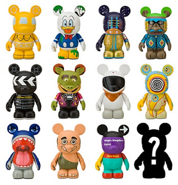 Disney Vinylmation Park 6 collection