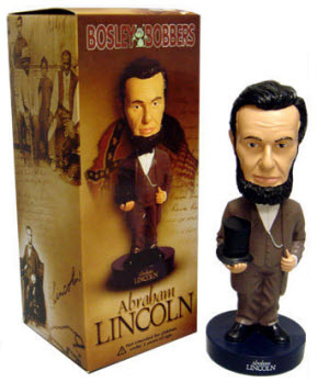 Abraham Lincoln bosley bobbers