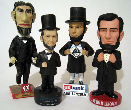 Abe Lincoln bobbleheads