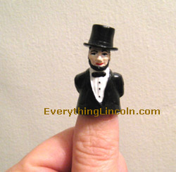 Abraham Lincoln top hat thimble