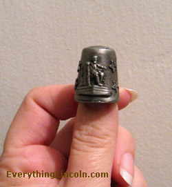 Lincoln Memorial thimble