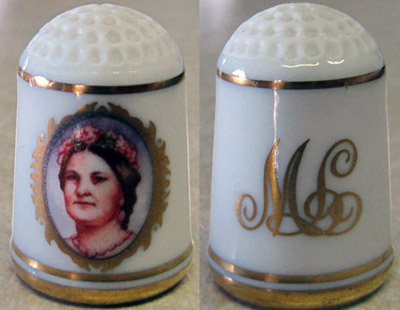 Mary Lincoln thimble