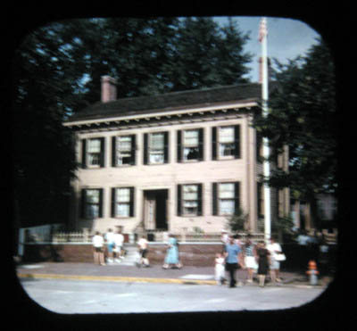 View-Master reel Lincoln home in Springfield