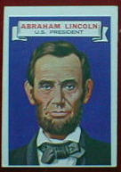 1967 Topps Who Am I Abraham Lincoln